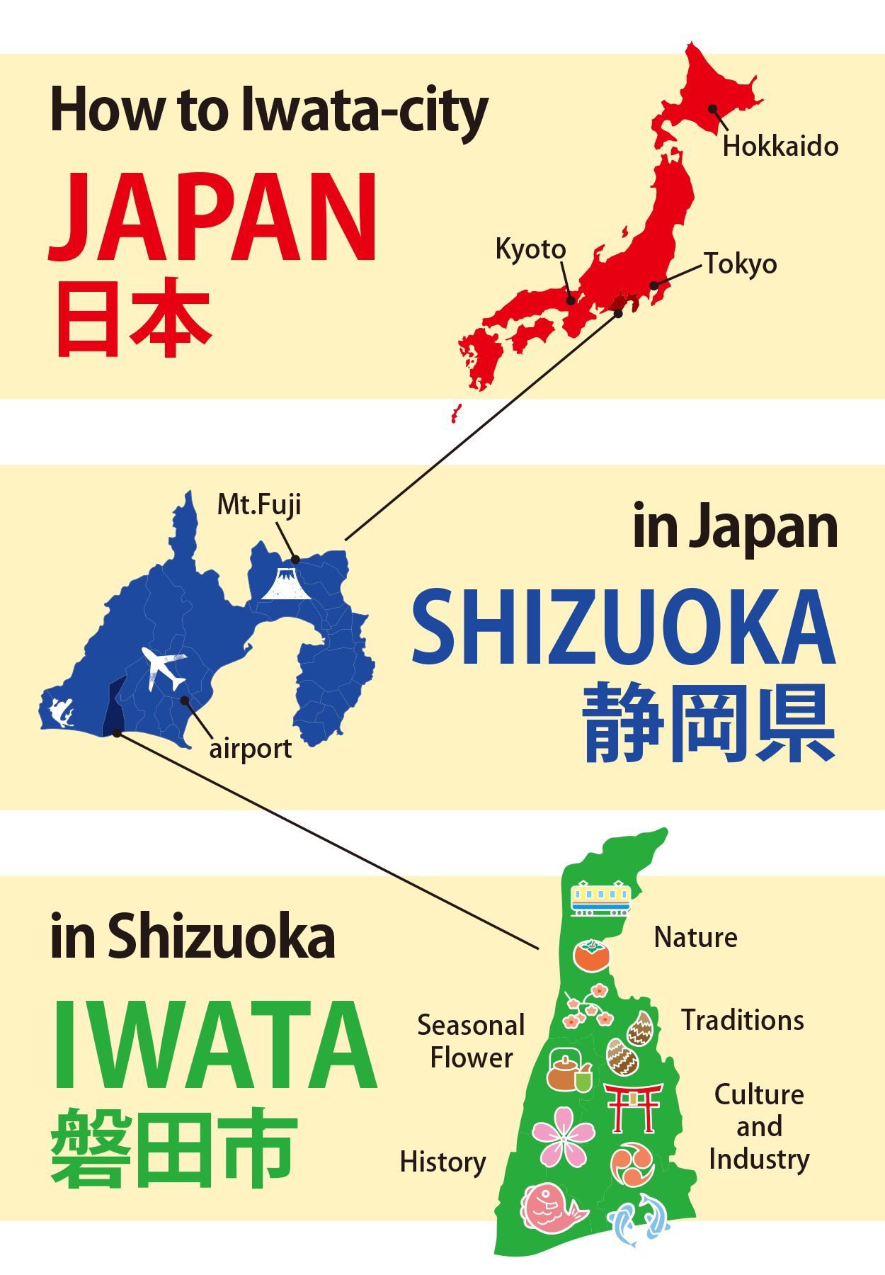 Iwata city is in Japan